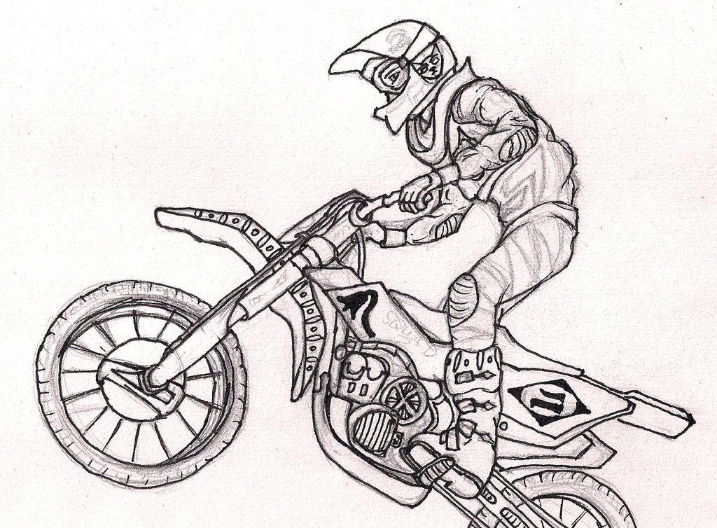 1024x754 Biker Yoruichi Drawing By Breyvan