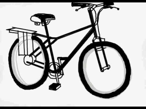 480x360 Drawing A Bike Time Lapse