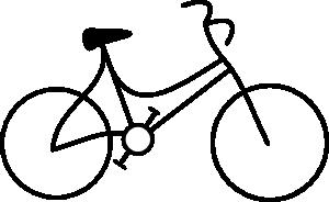 300x184 Bicycle Clip Art