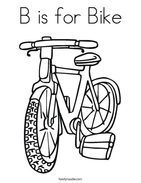 Bike Drawing For Kids