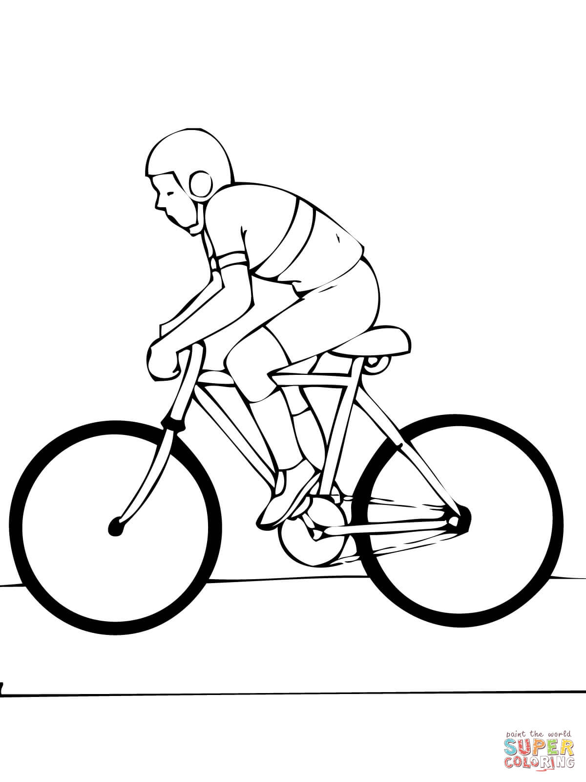 1200x1600 Road Bike Coloring Page Free Printable Coloring Pages