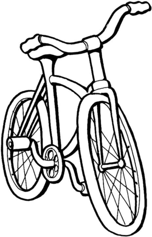 309x480 Bike For Kids Coloring Page Free Printable Coloring Pages