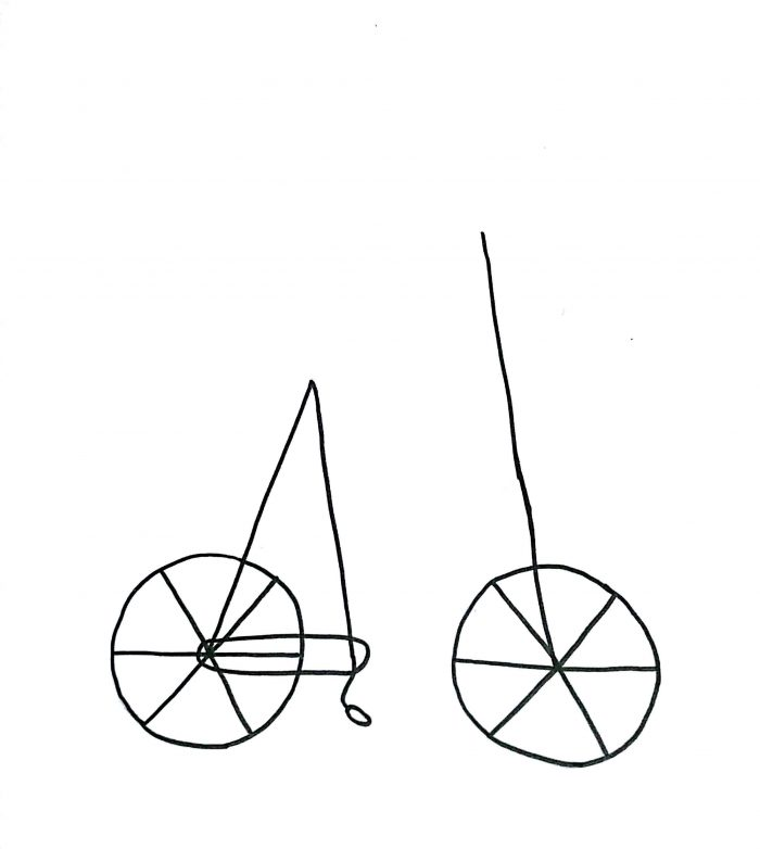 700x782 How To Draw A Cartoon Bicycle Simple Way To Draw Bike Drawing Art