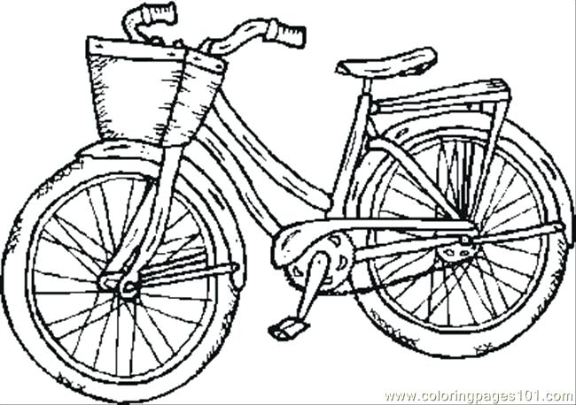 650x458 Bike Safety Coloring Pages Drawing Bike Safety Coloring Pages Bike