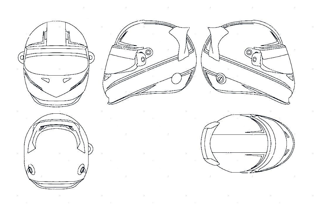 Bike Helmet Drawing at GetDrawings com | Free for personal use Bike