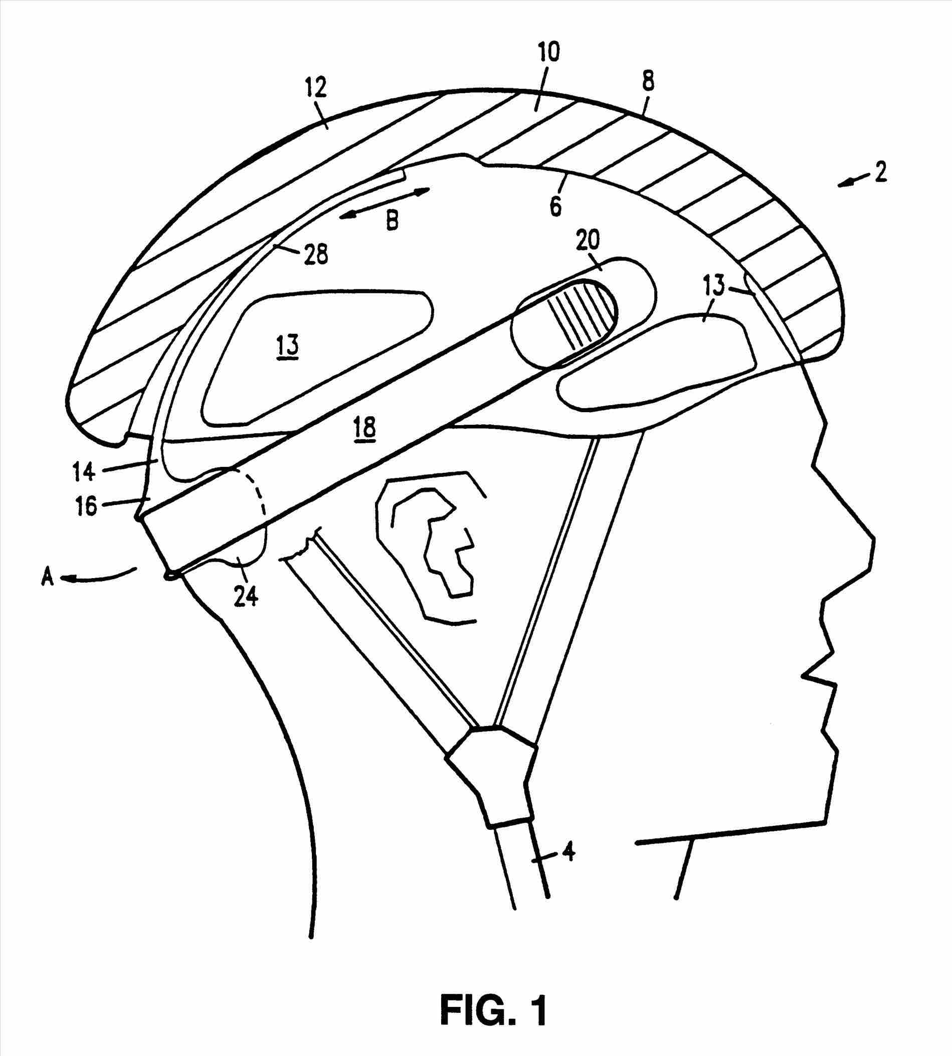 Bike Helmet Drawing Understanding