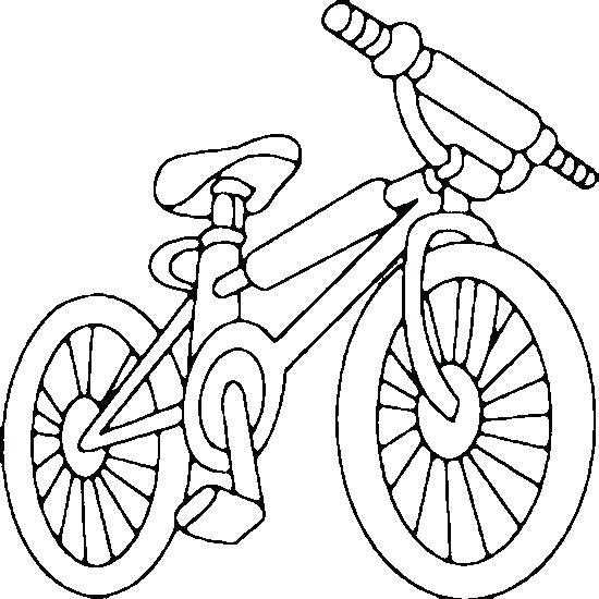 550x550 Drawn Bike Bicycle Line Many Interesting Cliparts