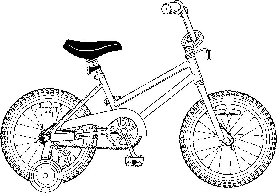 900x627 Kid Bike Drawing Coloring Page Coloring Pages To Print Color