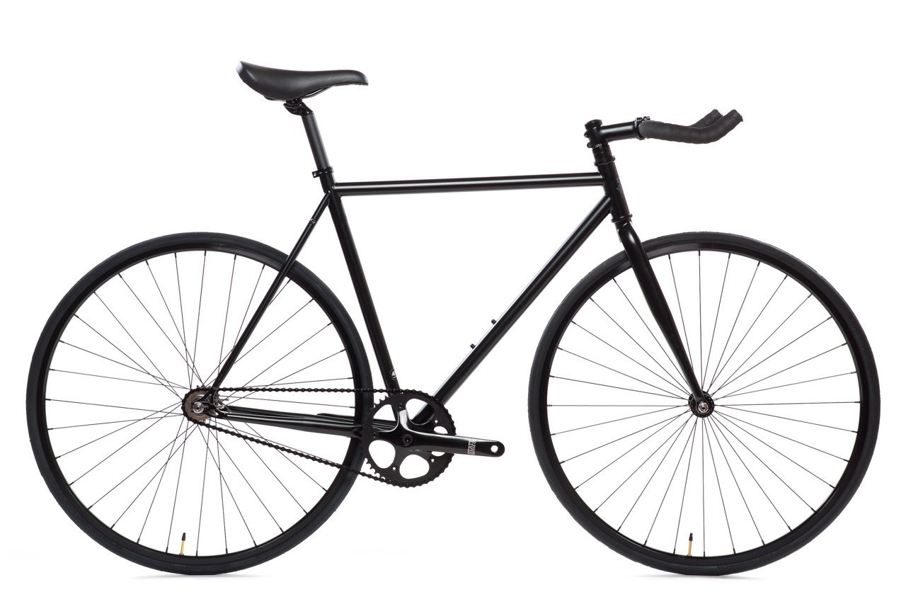 1280x853 Matte Black 6 Bicycle Fixie Amp Fixed Gear Bikes State Bicycle Co.