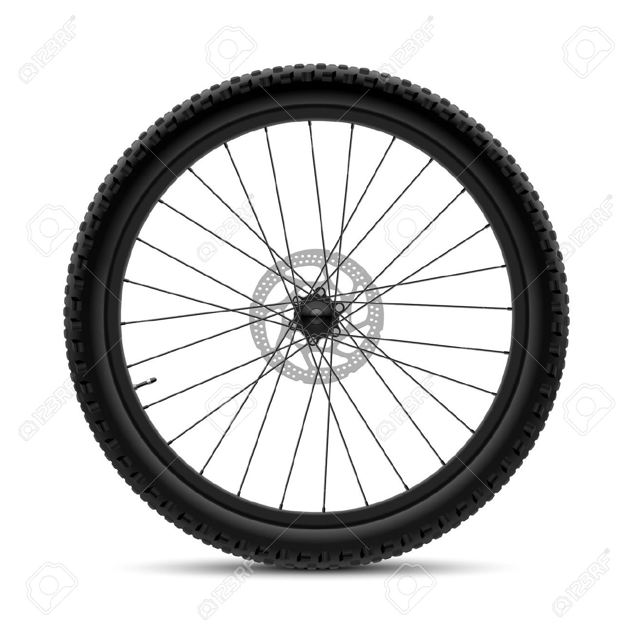 Bike Wheel Drawing