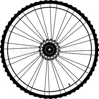 320x320 Bike Bicycle Wheel Background Stock Photo Colourbox