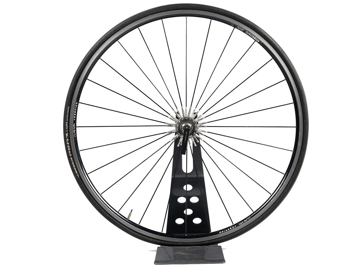 It is a photo of Modest Bike Wheel Drawing