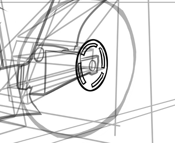 600x489 How To Draw Vehicles Motorcycles