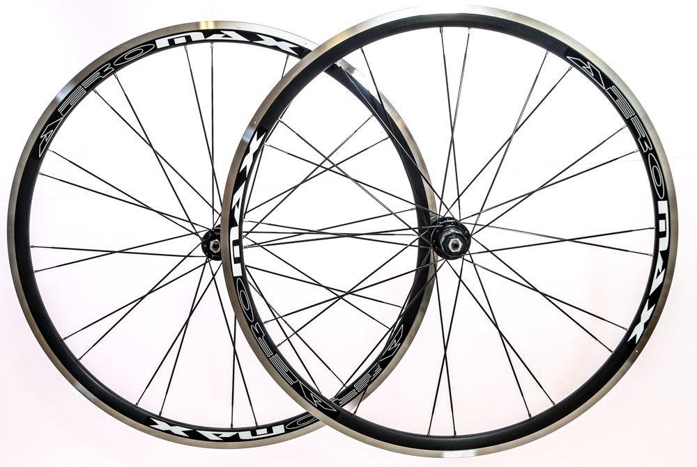 1000x671 Aeromax Alloy Wheelset Road Bike Comp 700c Wheels