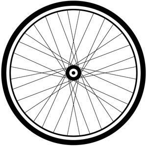 300x298 Bike Wheel Clipart Clipart Panda