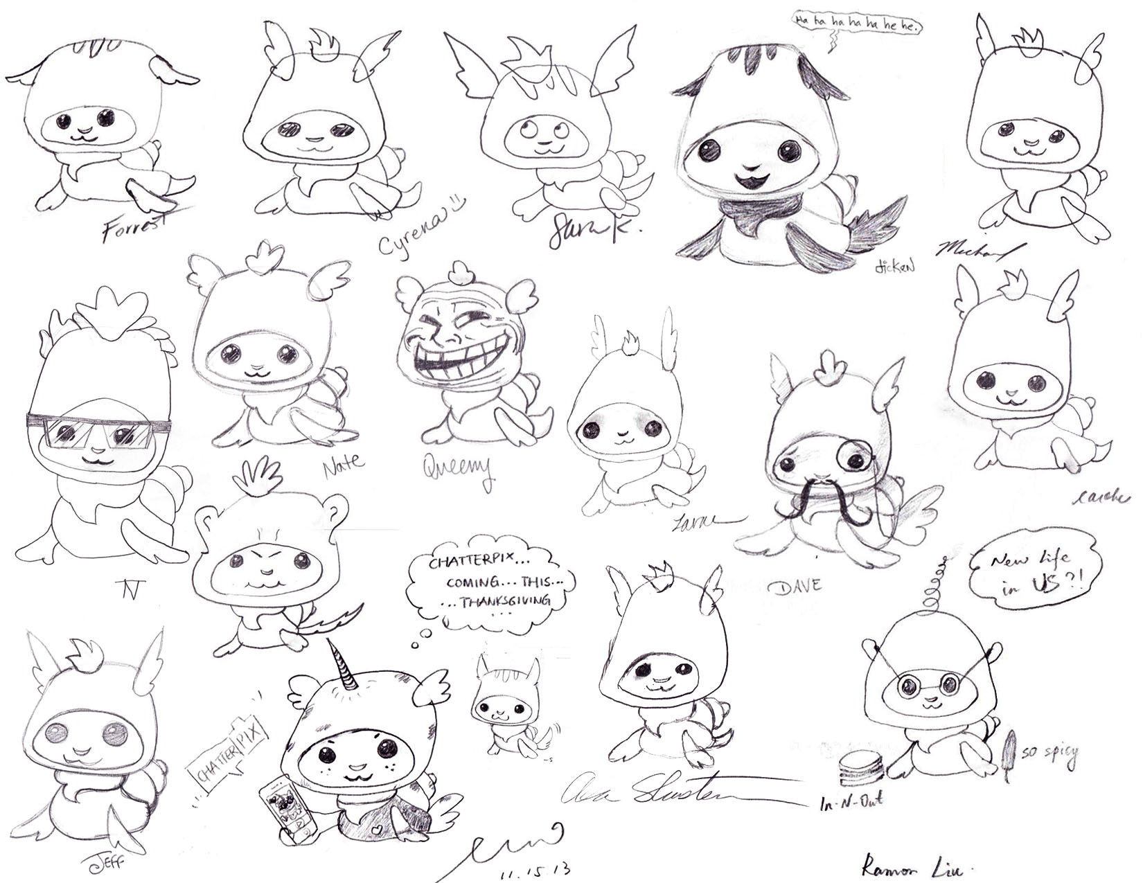 1650x1275 Friday Freebie! Draw Bingo Pets Step By Step. Duck Duck Moose