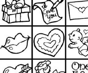 334x278 Printable Valentines Bingo Activities