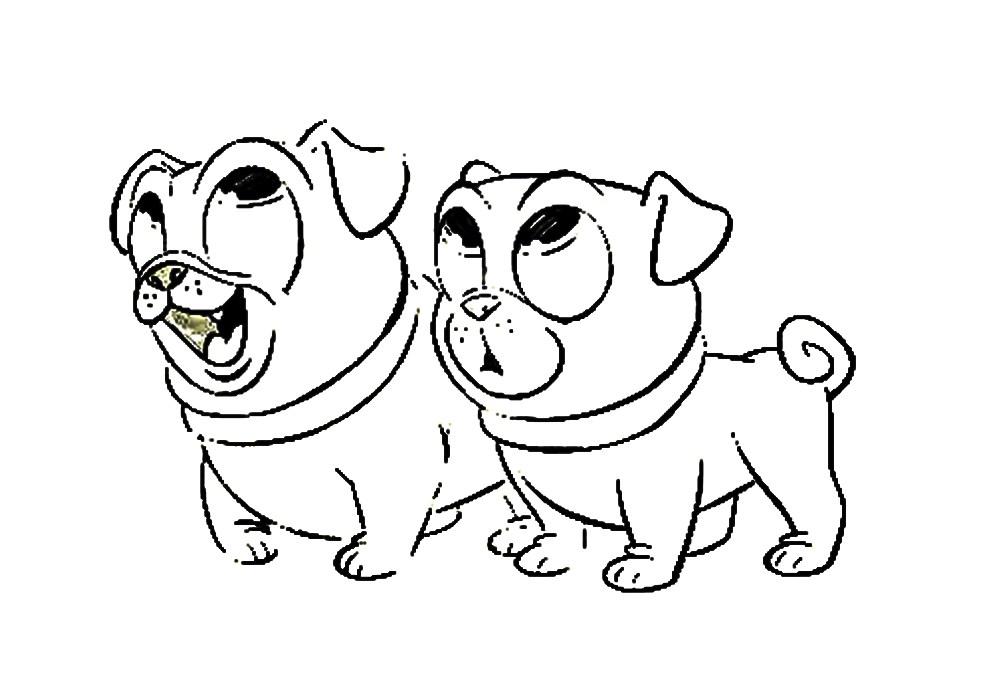 990x695 The Puppy Dog Pals Bingo E Rolly Imagens Para Colorir E Imprimir
