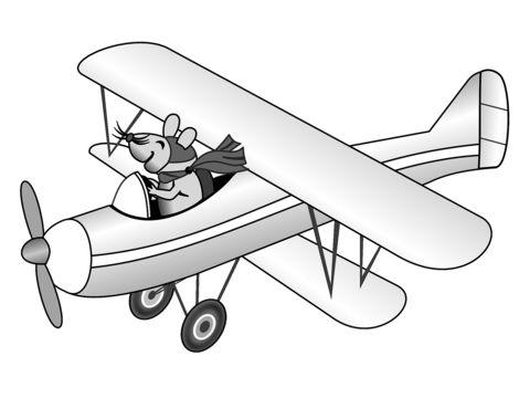 480x360 Benny The Biplane By Fritz Carmichael On Ibooks