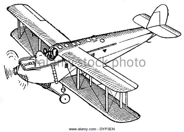 640x461 Biplane Black And White Stock Photos Amp Images