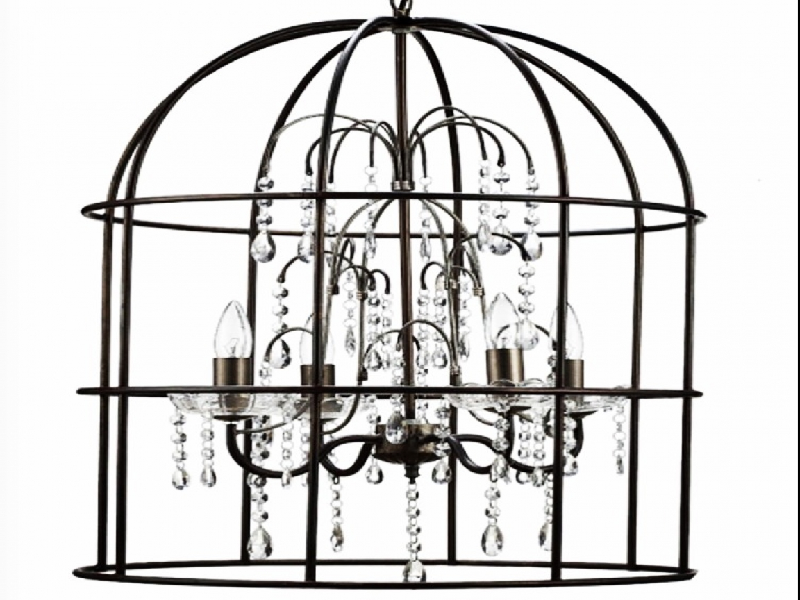 1152x864 Bird Cage Chandelier Creepy Bird Cage Drawings, Chandelier Rope