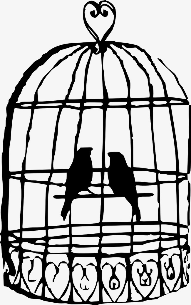 650x1036 Birdcage, Birds, Cage, Love Png Image For Free Download