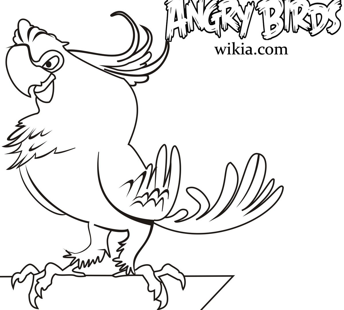 1200x1080 Images Of Angry Birds Epic Coloring Pages To For Kids Pigs High