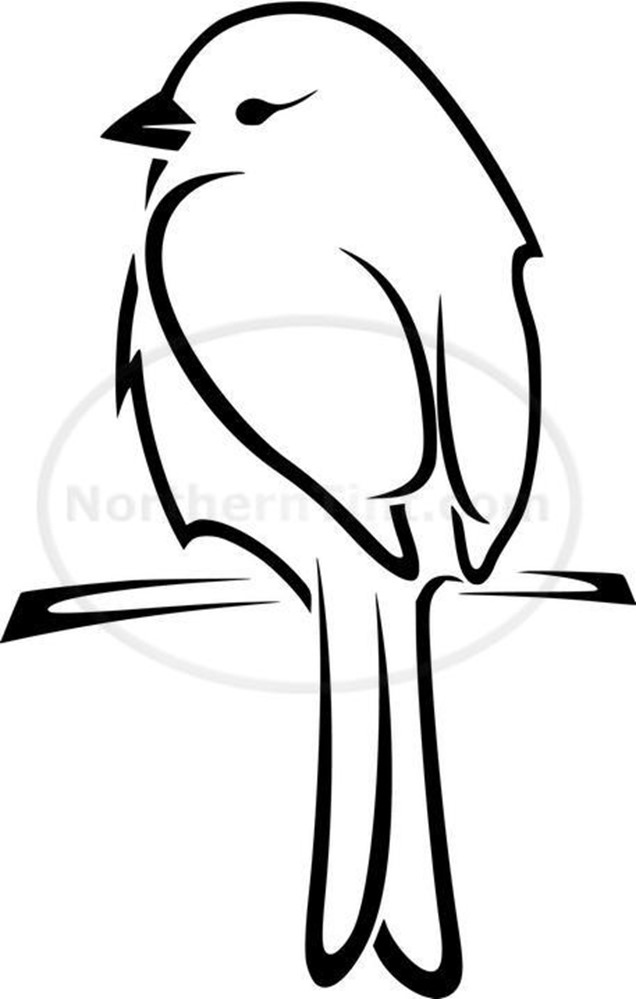 636x999 coloring easy small bird drawing with easy small flower drawing