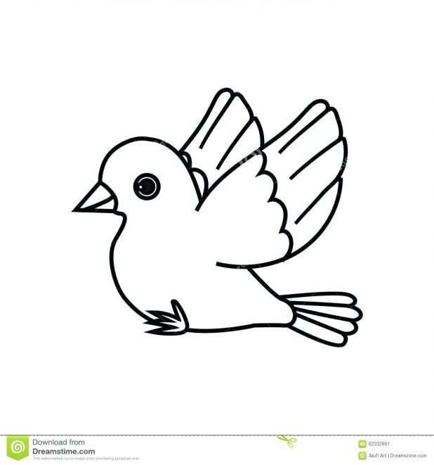 Bird Drawing Simple at GetDrawings | Free download