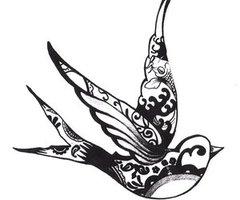 240x200 Birds Tattoos For You Swallow Bird Tattoos Tumblr
