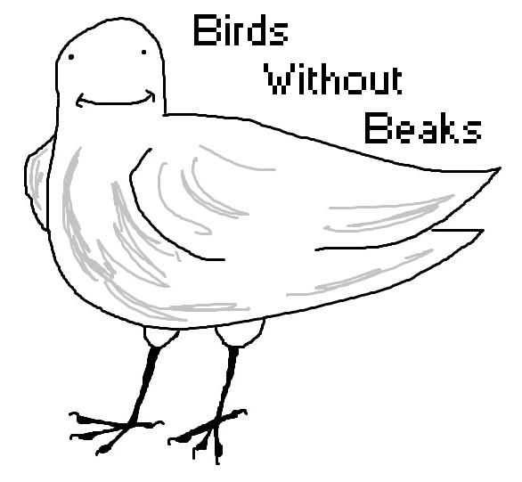 586x541 Birds Without Beaks Photo