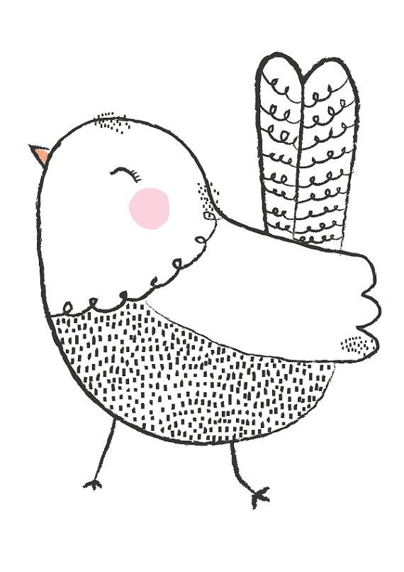570x806 Little Christmas Penguin Illustration Penguins