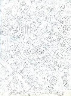 236x318 John Andrew Bird's Eye View Map Of Sydney. Cartograph