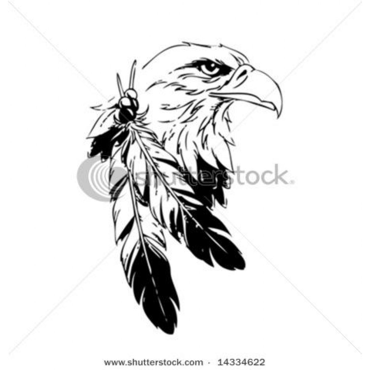 1200x1200 Native American Eagle Feather Drawings Feathers On Animal Horn