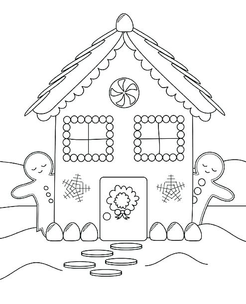 494x611 Coloring Pages Of Houses House Coloring Page Coloring Pages