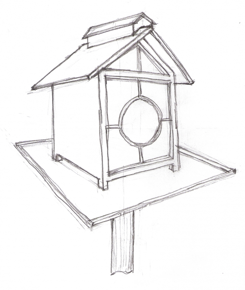 857x1014 Bird Feeder Drawings Bird Feeder Plans Pdf