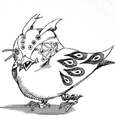 396x427 Night Bird Flying Jojo's Bizarre Encyclopedia Fandom Powered