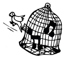 236x236 Bird Couple Are In Love In Bird Cage Coloring Pages Jaula