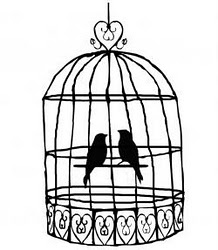 218x250 The Best Birdcage Drawing Ideas On Bird Cage