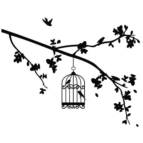 600x600 Bird Cage Hanging