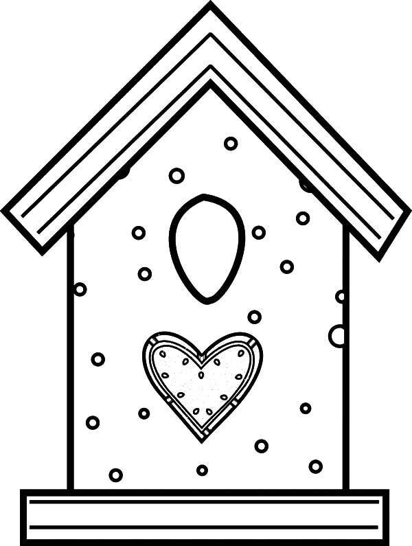 Bird House Drawing At Getdrawings Com Free For Personal Use Bird