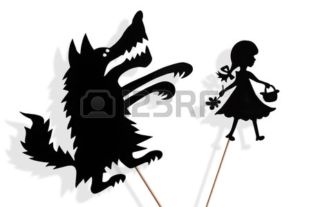 450x300 Shadow Puppets Of Princess And Frog With Soft Glowing Screen