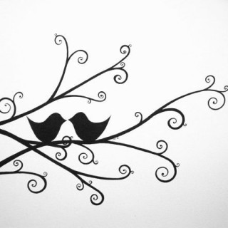 320x320 Tag For Love Birds Images For Drawing Love Birds 2 Drawing Jpg