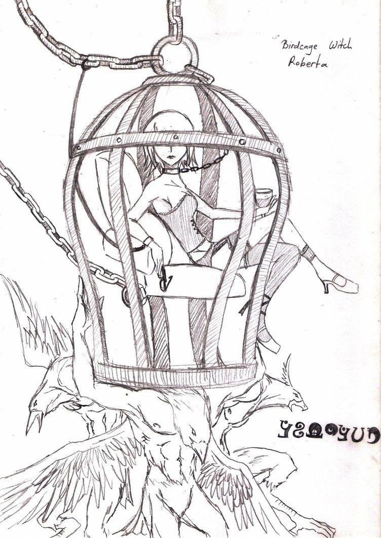 752x1062 Birdcage Witch, Roberta By Das58