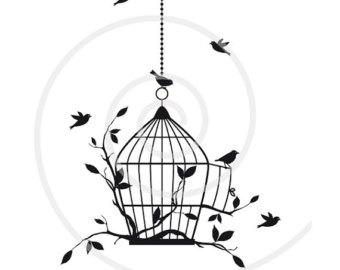 340x270 Popular Items For Bird In A Birdcage On Etsy Birds