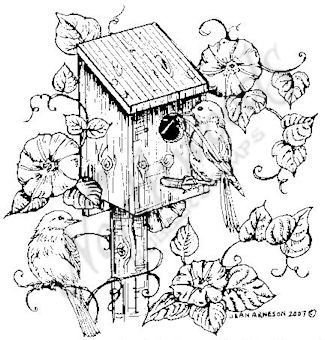 325x340 Northwoods Rubber Stamps