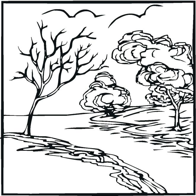 660x660 River Coloring Pages Adults Birdhouse Coloring Pages