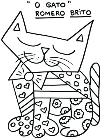 325x453 Romero Britto Coloring Pages Bird And Birdhouse Coloring Page