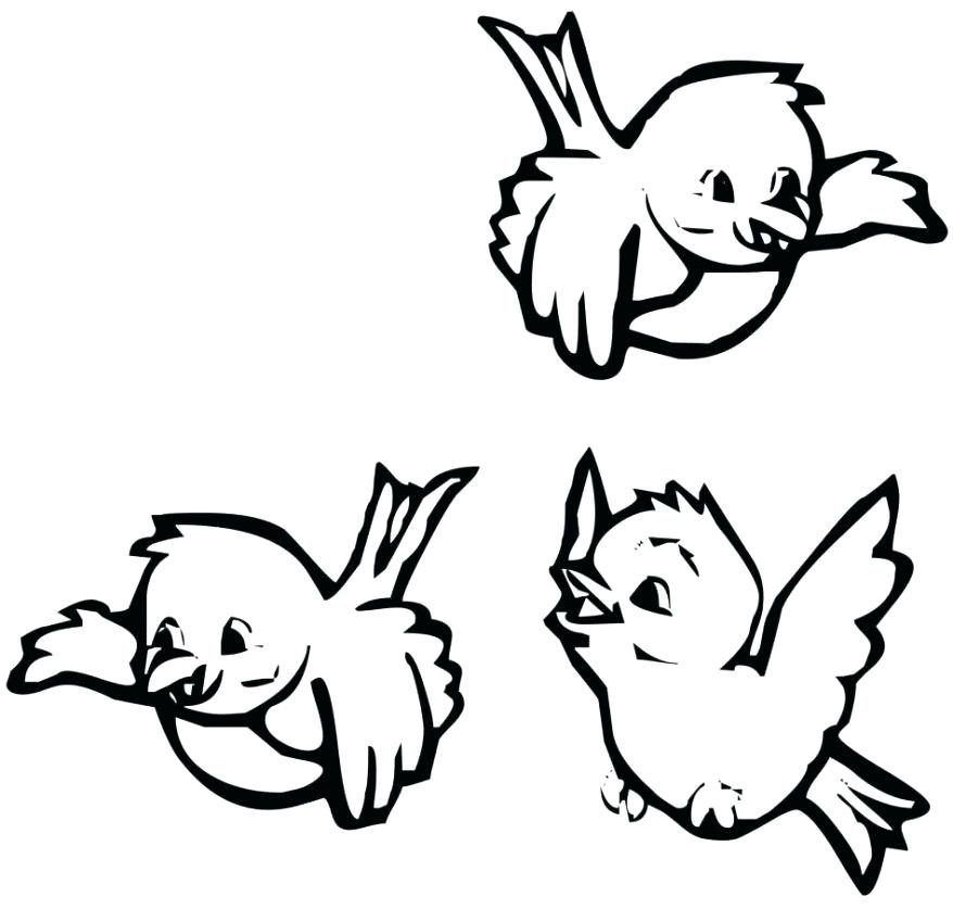 878x837 Birdhouse Coloring Pages