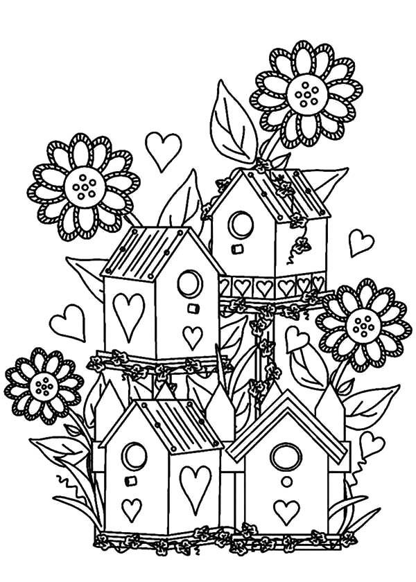 600x840 Bird House, Bird House